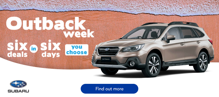 Subaru - Outback Week