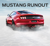 Ford Mustang Runout