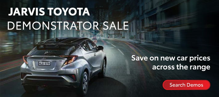 Toyota Demonstrator Sale