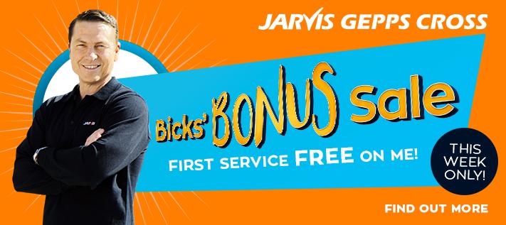 Bicks Bonus - Massive Used Car Sale
