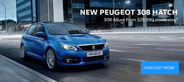 Peugeot 308 Driveaway offer