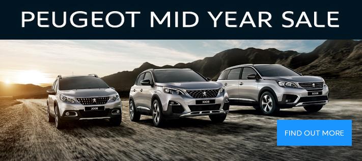 Peugeot Mid Year Sale