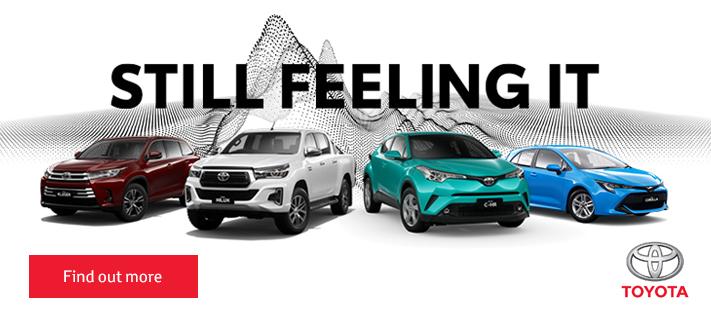 Toyota Still Feeling It