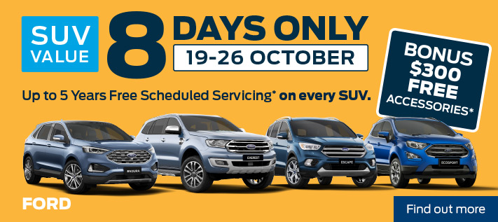 Ford - 8 Day Sale