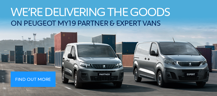 Peugeot Expert and Partner Van Offers