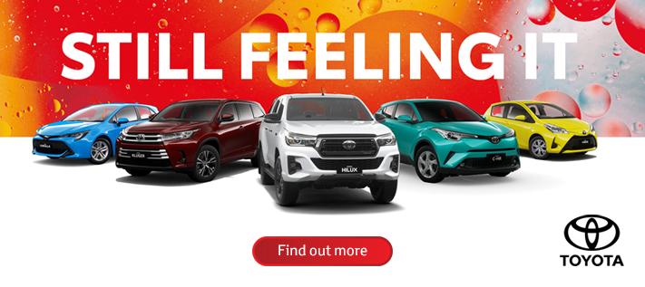 Toyota Still Feeling It October