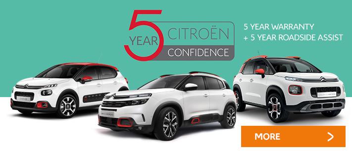 Citroen Introduces 5 Year Warranty