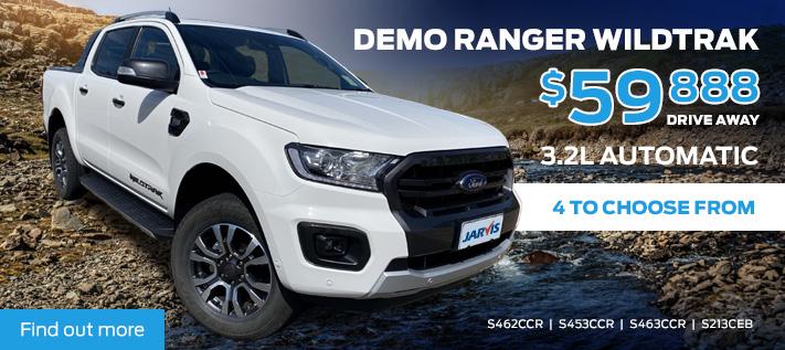 Ford Ranger Wildtrak Demo