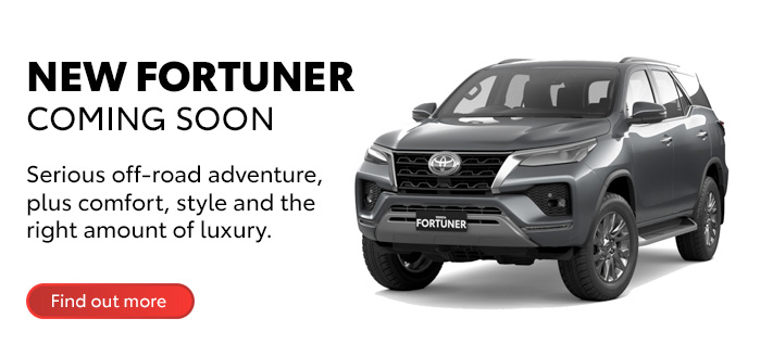 Toyota All-New Fortuner - Coming Soon