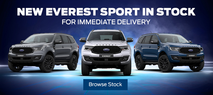 Ford Everest Sport In Stock