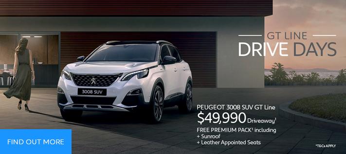 Peugeot Drive Days 3008 GT Line