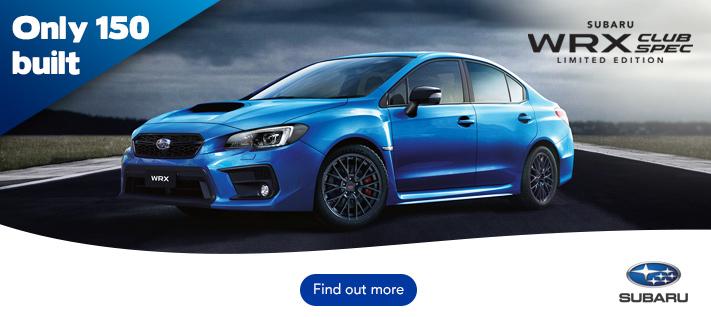 Subaru WRX Club Spec Limited Edition