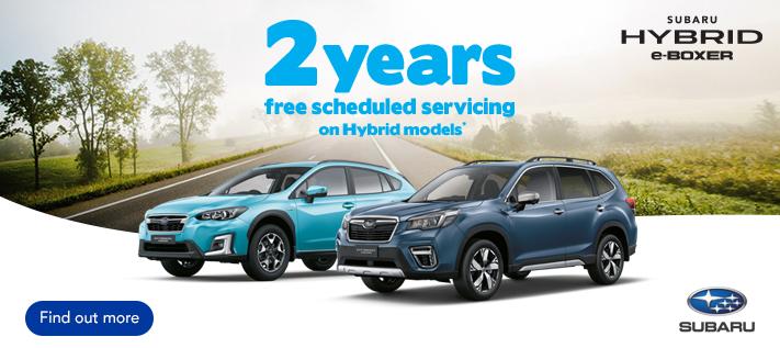 Subaru Hybrid Free Servicing Offer