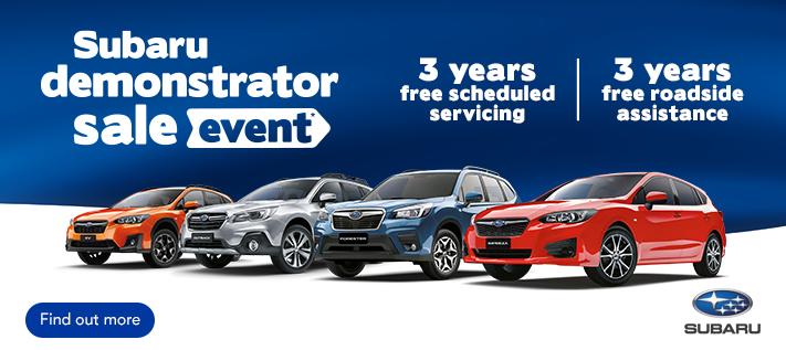 Subaru Demo Sale November