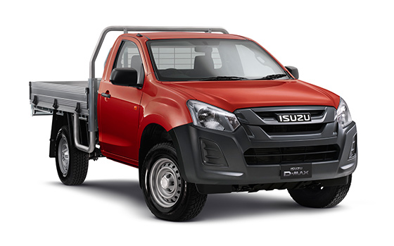Isuzu D-MAX EX 4x4 Single Cab Chassis