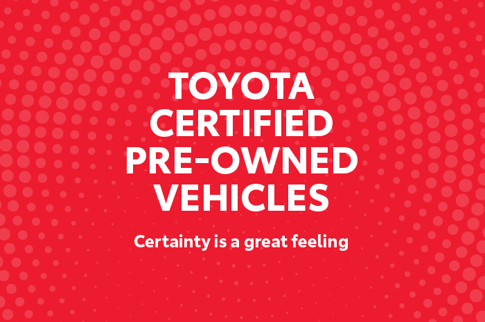 Toyota Certified Pre-Owned >> Toyota Certified Pre Owned Vehicles Jarvis Toyota
