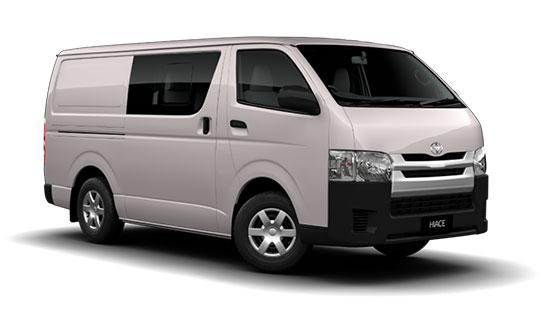 Toyota Hiace LWB Crew Van