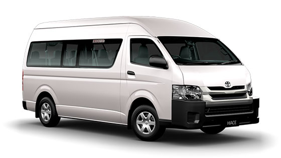 Toyota Hiace SLWB Commuter Bus