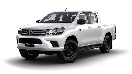 Toyota Hilux 4x2 SR Hi-Rider Double Cab Pick-Up