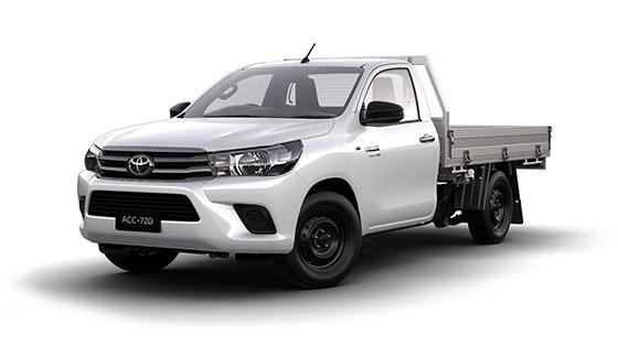 Toyota Hilux 4x2 SR Single Cab Cab Chassis