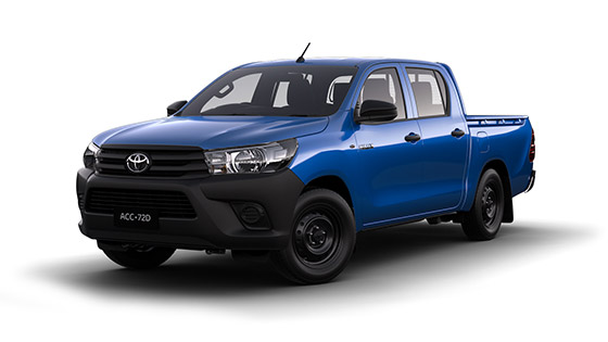 Toyota Hilux 4x2 Workmate Double Cab Pick-Up