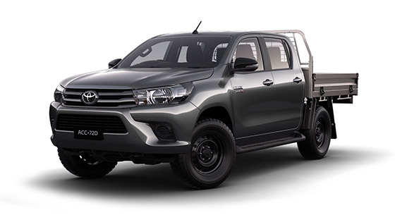 Hilux 4x4 SR Double Cab Cab Chassis