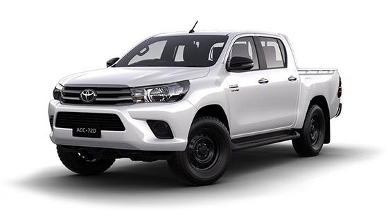 Toyota Hilux 4x4 SR Double Cab Pick Up