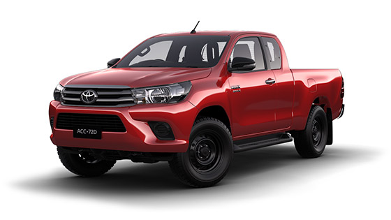 Toyota Hilux 4x4 SR Extra Cab Pick Up