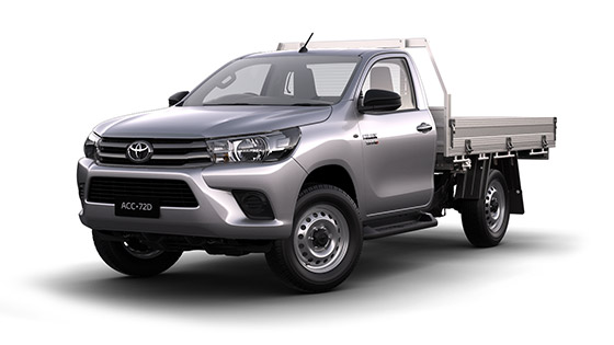 Toyota Hilux 4x4 SR Single Cab Cab Chassis