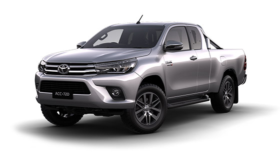 Toyota Hilux 4x4 SR5 Extra Cab Pick Up