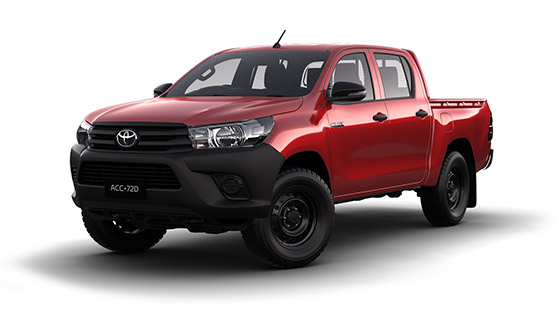 Toyota Hilux 4x4 Workmate Double Cab Pick-Up