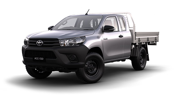 Hilux 4x4 Workmate Extra-Cab Cab Chassis