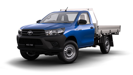 Toyota Hilux 4x4 Workmate Single Cab Cab Chassis