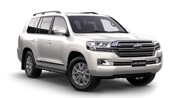 Toyota Landcruiser 200 LC200 Sahara