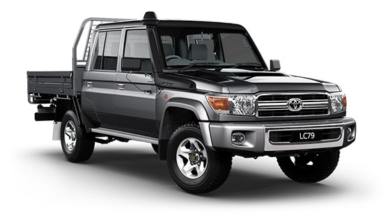 Landcruiser 70 GXL Double Cab Chassis