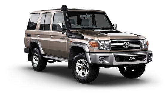 Toyota Landcruiser 70 GXL Wagon