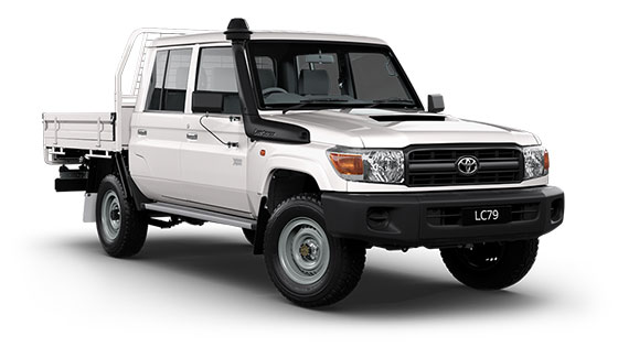 Landcruiser 70 Workmate Double Cab Chassis