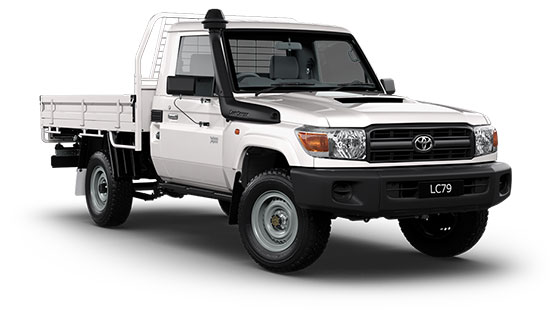 Landcruiser 70 Workmate Single Cab Cab Chassis