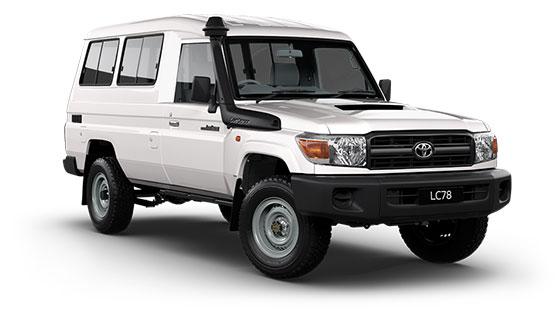 Toyota Landcruiser 70 Workmate Troop Carrier