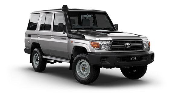 Toyota Landcruiser 70 Workmate Wagon
