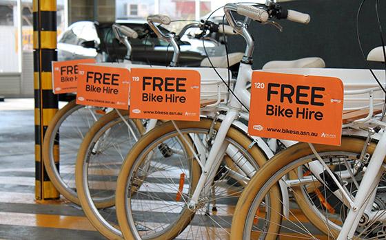 Adelaide Free Bikes