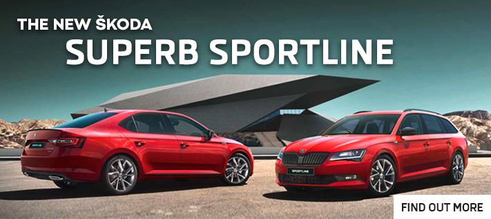 Skoda Superb Sportline