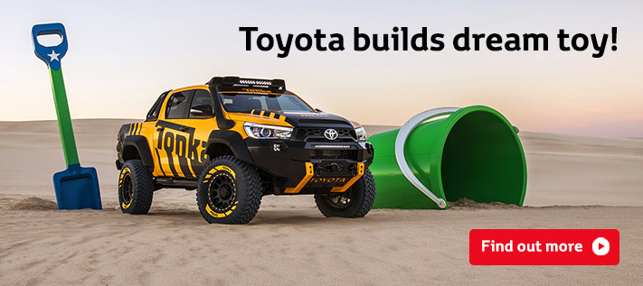 Toyota builds dream toy!