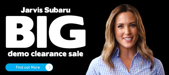 Subaru BIG Demo Clearance