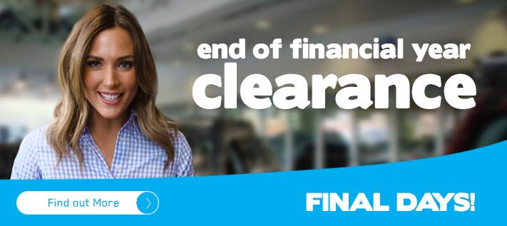 Subaru EOFY Clearance