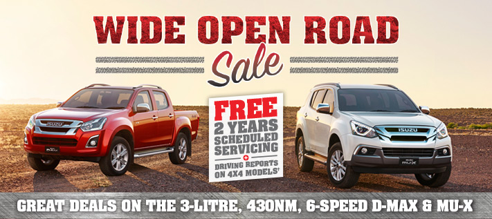 Isuzu Wide Open Road Sale
