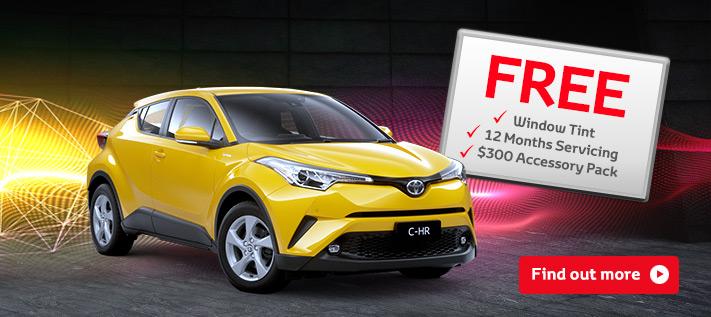 Toyota C-HR offer