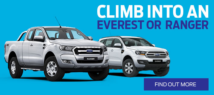 Ford Ranger and Everest Offer