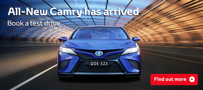 All-New Toyota Camry