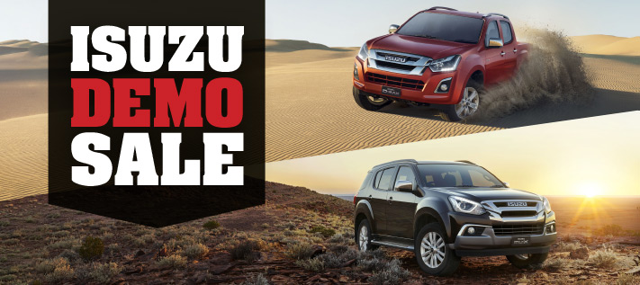 Isuzu Demo Sale